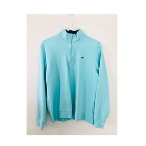 Turquoise Blue vineyard Vines pullover